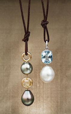 Pearl & Gemstone Pendants