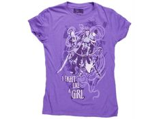 """World of Warcraft """"I fight Like a Girl"""" Women's Tee...Oh, yeah!"""