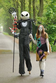Jack & Sally (The Nightmare Before Christmas)