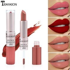 Matte Lip Gloss, Matte Lipstick, Lipstick Colors, Red Lipsticks, Liquid Lipstick, Lip Colors, Lip Makeup, Makeup Cosmetics, Beauty Makeup