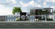 Bom dia! | Casa do Terraço | #StudioNandoNunes |  #casa #nandonunesgo #house #maison #paisagismo #fachada #arquitetura #arquiteturabrasileira #home #homestyle #brasil #architecture #arquitectura #projeto #proyecto #outdoor #landscapedesign #paisagismo #3drender #render #sketchup #vray #3dmodel #rendering #archdaily #archilovers by studionandonunes