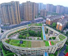 Organic rooftop farm grows atop an elementary school in China | Inhabitat - Sustainable Design Innovation, Eco Architecture, Green Building
