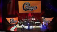 Live show: American rock band Chicago played for the golfers and their devoted partners