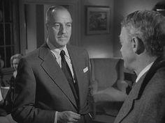 The Asphalt Jungle , 1950, Film Noir,  Louis Calhern