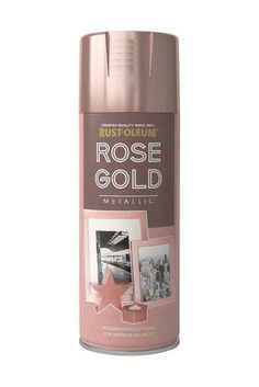 A premium quality, scratch resistant finish that allows you to create an attractive Rose Gold metallic finish on a wide range of substrates. Add a shiny metallic look to picture frames, candle holders, hobby and craft items and more.