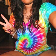 The perfect tie dye shirt <3