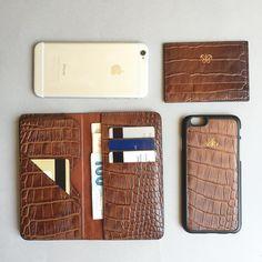 S1 iphone cüzdan ve kılıf set 6+,6s+ & Kartlık . #unisex #leather…