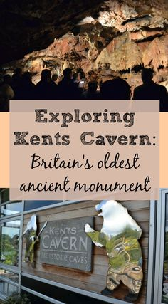 A family day out at Kents Cavern in South Devon. It's Britain's oldest ancient monument and was formed 2.5million years ago. The oldest evidence of modern man in north west Europe was discovered here in the 1920s. Kents Cavern is the perfect family trip on a wet day or if you love your ancient history