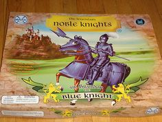Sir Brandon The Blue Knight Marx Toys Set. New in original box. For this and more visit me at www.dandeepop.com