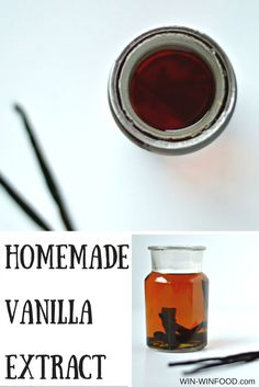 Homemade Vanilla Extract |WIN-WINFOOD.com   Make your own all-natural vanilla extract! Also a great #Christmas #giftidea #homemade #howto