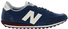 New Balance 410 Navy/Burgundy Sneakers on shopstyle.com