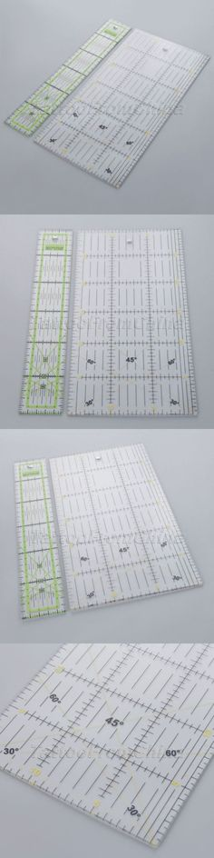 HEALLILY Quilting Ruler Fanshaped Patchwork Ruler Template Sewing Accessories