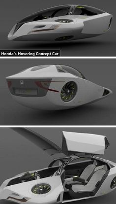 Top 10 Futuristic Concept Car Designs, Flying Car, Magnet CarHere are the list of the top 10 concept cars of the future. Chevy Vehicles, Flying Vehicles, Military Vehicles, Real Flying Car, Design Transport, Hover Car, Honda Crx, Honda Auto, Futuristisches Design