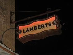 Lamberts offers upscale barbecue on the beautiful Street block. Sides are essential including the mac and cheese and fried green tomatoes. the-eats