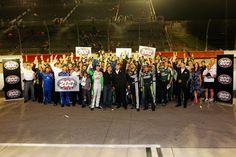 the Hendrick Motorsports team's 200th victory at Darlington during the Bojangles' Southern 500