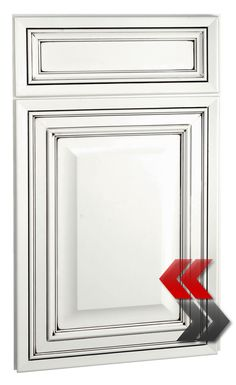 Latest Deerfields Bronson Maple Bright White Chocolate Glaze Cabinet Door  Style With White Glazed Shaker Kitchen Cabinets