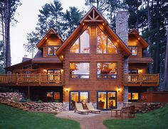Log homes - Strongwood Georgia