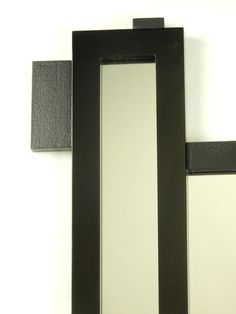Additional details are all in matt black and textured. Love it..! Total Modern Mirror..!
