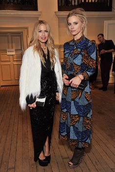 Laura Bailey and Rachel Zoe at British Vogue's inaugural festival Laura Bailey, Vogue Fashion, Pop Fashion, Fashion News, Girl Fashion, Fashion Outfits, Spring Couture, Couture Week, La Girl