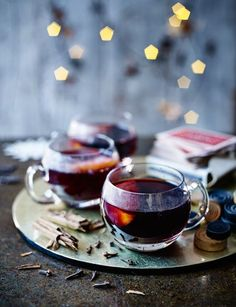 We've always got time for a glass of mulled wine and this traditional recipe is a corker
