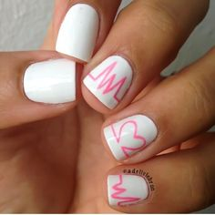 nails...reminds me of miss crystal @Crystal Chou Nault