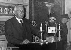 Konstantin Von Neurath, Ministro de Relaciones Exteriores a inicios del Tercer Reich.