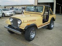 My '81 Laredo: I own an original, unrestored 1981 CJ7 Laredo,  258ci 6cyl. with the original carter carburetor and factory A/C.   I use it as a daily driver and flog