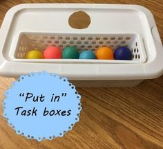 """I have quite a few students who need level 1 task boxes this year. My go-to for many of these kiddos are """"put-in"""" tasks because it allows th..."""