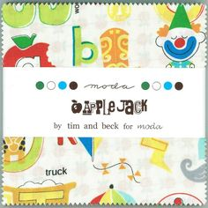 Charm pack Apple jack by tim and beck for moda