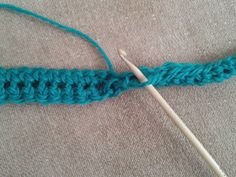 Crochet cord how to
