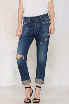 Give those super skinnies a break and rock these slouchy slim jeans - Citizens of Humanity Corey Slim Jean