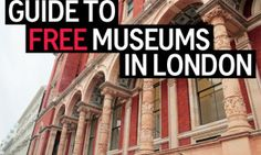 The Top 9 Free Museums in London for your next trip to Europe! London Calling, London Free, London In March, Living In London, Cities, Free Museums, London Museums, Things To Do In London, European Vacation