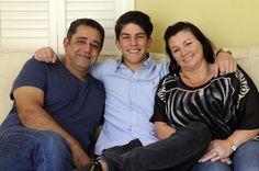 Rahart Sadiqzai-Adams and his parents :)