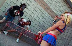 Anyone can kill Zombies! hehehhe