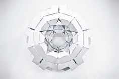 Skylar Tibbits and Arthur Olson Chiral Self-Assembly project at Autodesk University in Las Vegas #4dPrinting