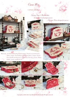 Antique sewing machine ❤✄◡ً✄❤ Casa Mia Yuko ❤✄◡ً✄❤ http://www.casamiainitalia.com/