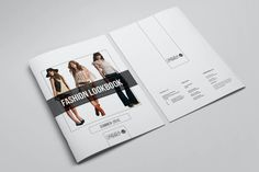 Look-book Template by ashuras_sharif on Envato Elements Book Layout, Page Layout, Change Image, File Image, Magazine Template, Page Design, Design Ideas, Print Templates, Magazine Design