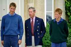 Prince Charles and sons