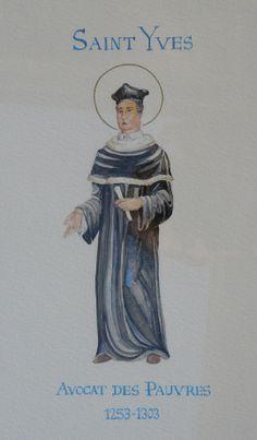 Saint Yves, avocat des pauvres, anonyme.