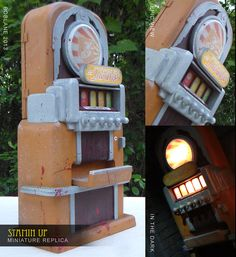 COD Zombies: Stamin-Up Machine IRL Miniature by faustdavenport.deviantart.com on @deviantART