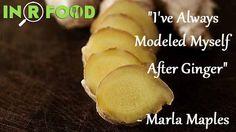 """""""I've always modeled #myself after #Ginger"""" - Marla Maples"""