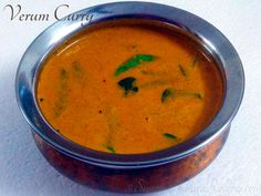 Easy Indian Recipes, Ethnic Recipes, Vegetarian Gravy, Kanyakumari, Mixed Vegetables, Coconut Curry, Curry Leaves, Fried Fish, Tamarind