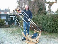 Jan van Gastel: Building five 12 inch lightweight Dobsonian telescopes Telescope Craft, Hubble Space Telescope, Astronomy Terms, Alternative Energy, Macro Photography, Van, Lazy Susan, Astronomy, Diy