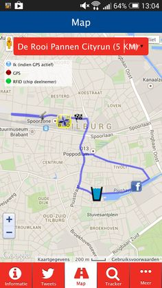 Brabants Dagblad Tilburg Ten Miles heeft nu ook een eigen app. Hierin is onder andere belangrijke informatie over het evenement terug te vinden en kan je het parcours bekijken van alle afstanden.