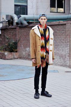 이한노 Lee Han No Mens Street Style ,  korea Seoul 2013 dec 10  #streetper #streetstyle #streetfashion #fashion #fashionstyle #seoul #korea #menswear #mensfashion #winterstyle