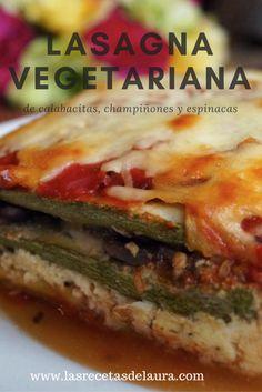 Cocina – Recetas y Consejos Miso Recipe, Best Egg Salad Recipe, Salad Recipes, Lasagna Vegetariana, Easy Healthy Recipes, Vegetarian Recipes, Healthy Food, Mexican Made Easy, Spinach Stuffed Shells