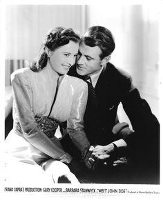 Gary Cooper & Barbara Stanwyck - Meet John Doe, 1941
