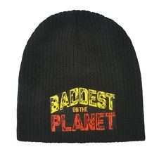 0b76c5d70f8f1c Keep warm this winter with the Official WWE Superstar Beanie Knit Hat!