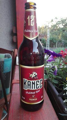 Kanec, polotmavý ležák. Czech beer.