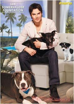 Animal Love: Ian Somerhalder Foundation!